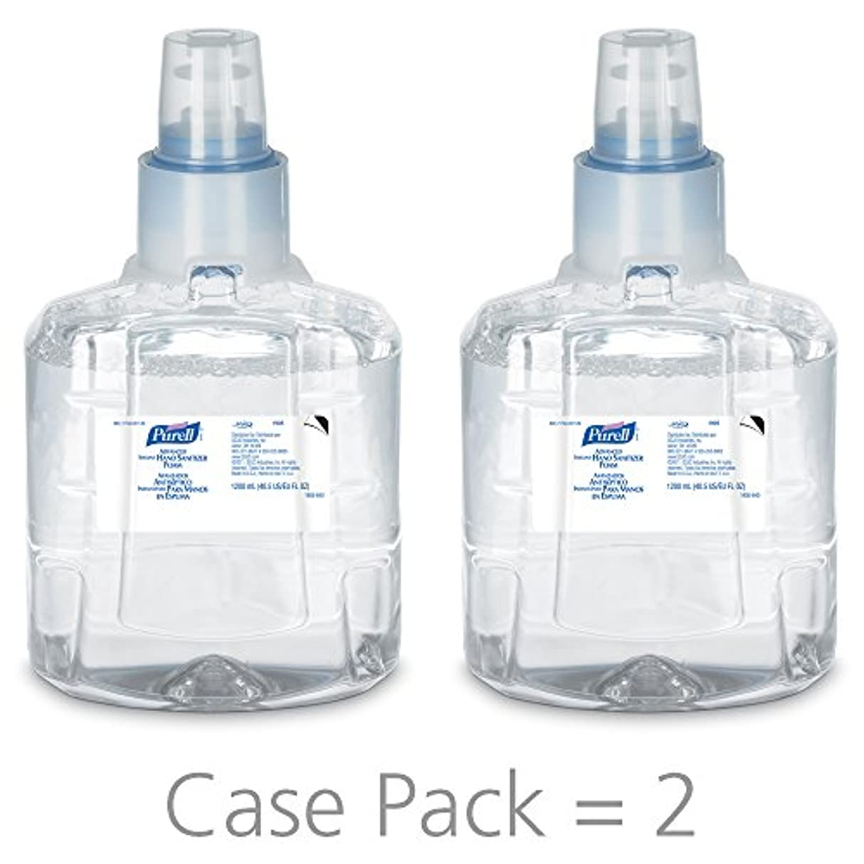 ご近所データ検証PURELL 1905-02 1200 mL Advanced Hand Sanitizer Foam, LTX-12 Refill (Pack of 2) by Purell