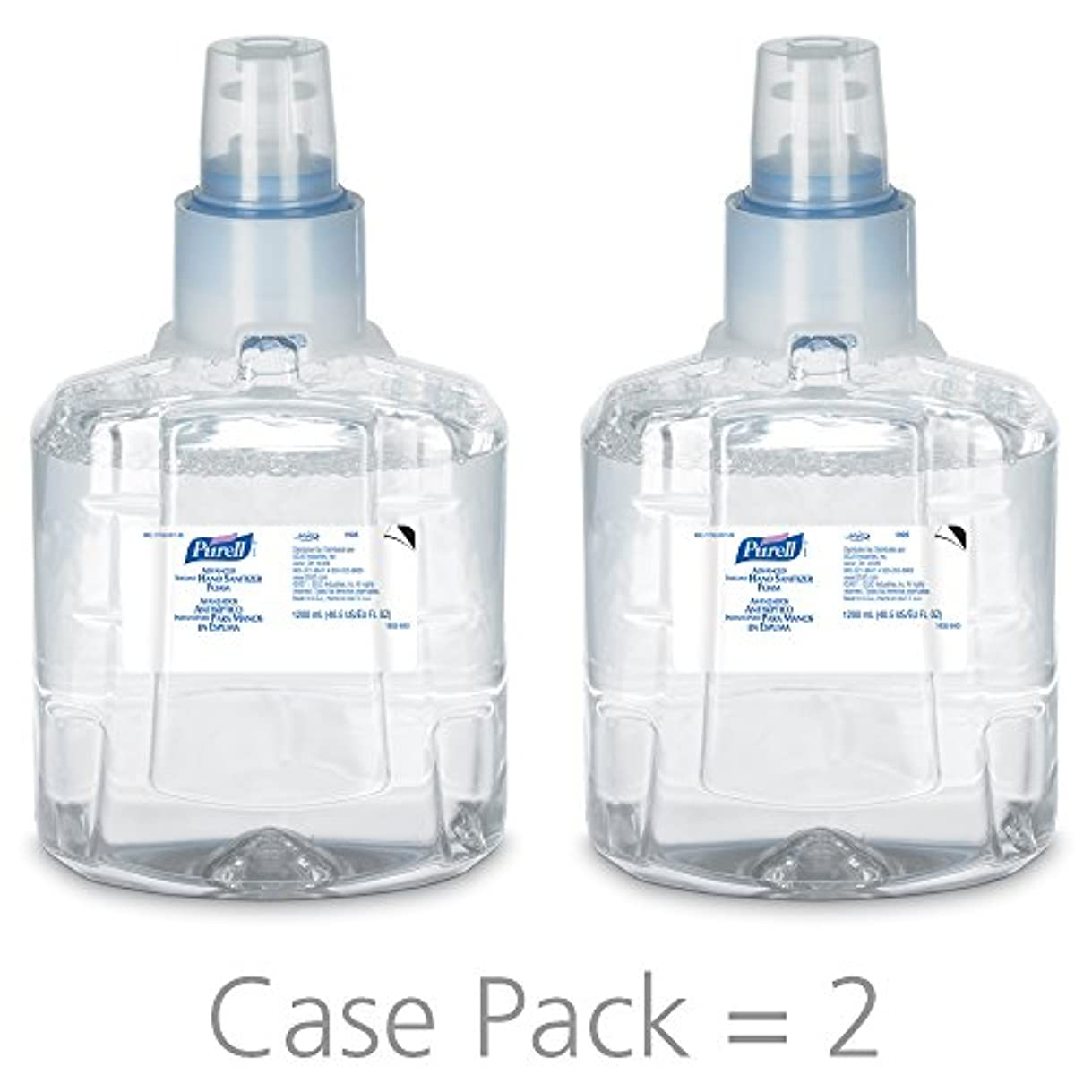 ベリー刺す毎月PURELL 1905-02 1200 mL Advanced Hand Sanitizer Foam, LTX-12 Refill (Pack of 2) by Purell