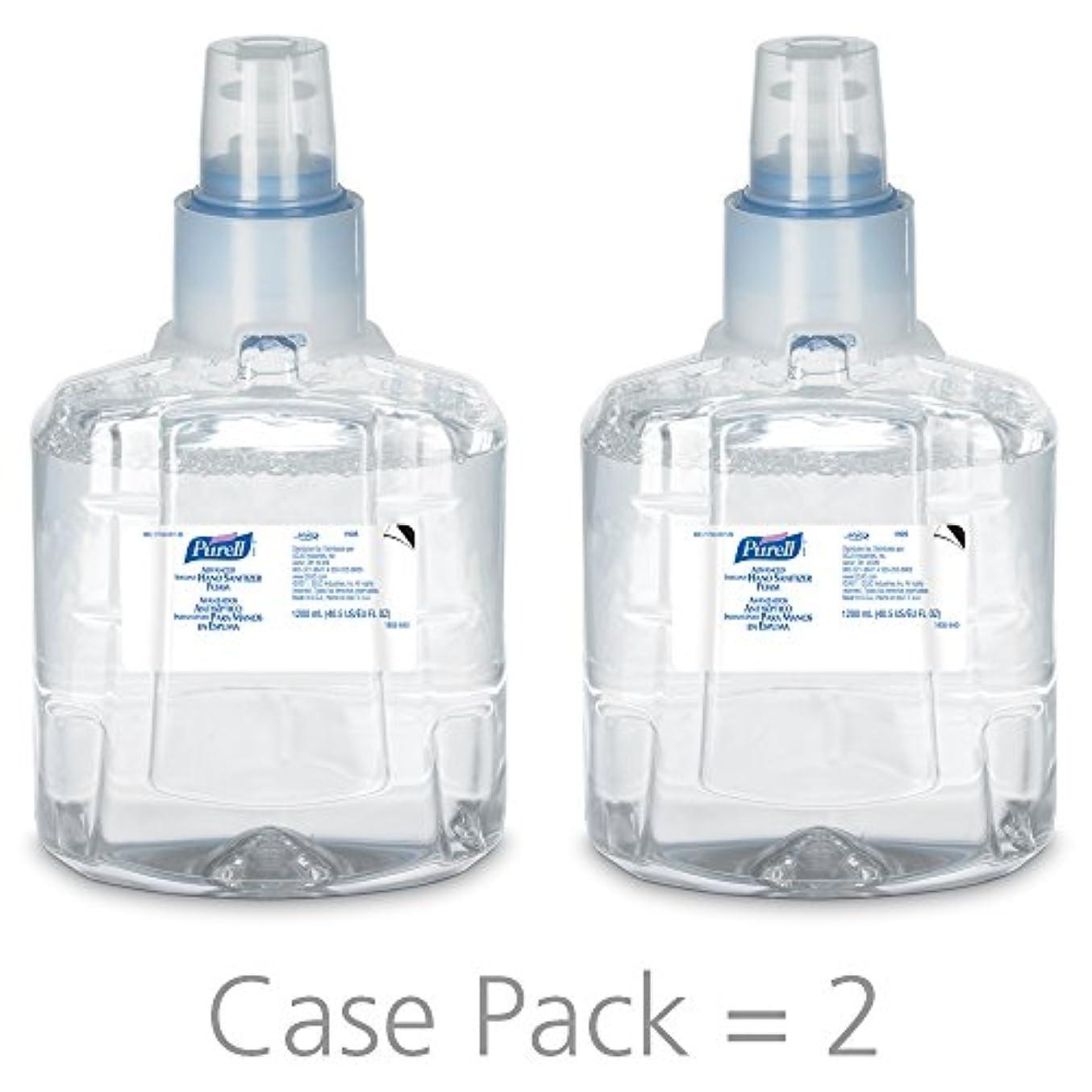 女優サロンしみPURELL 1905-02 1200 mL Advanced Hand Sanitizer Foam, LTX-12 Refill (Pack of 2) by Purell