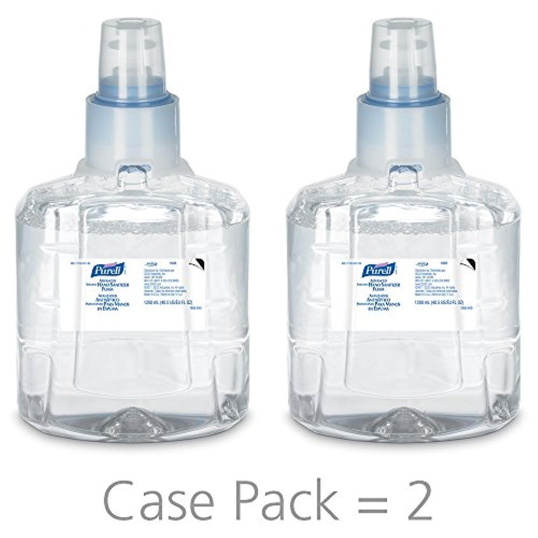 絶対に動揺させる社会主義PURELL 1905-02 1200 mL Advanced Hand Sanitizer Foam, LTX-12 Refill (Pack of 2) by Purell