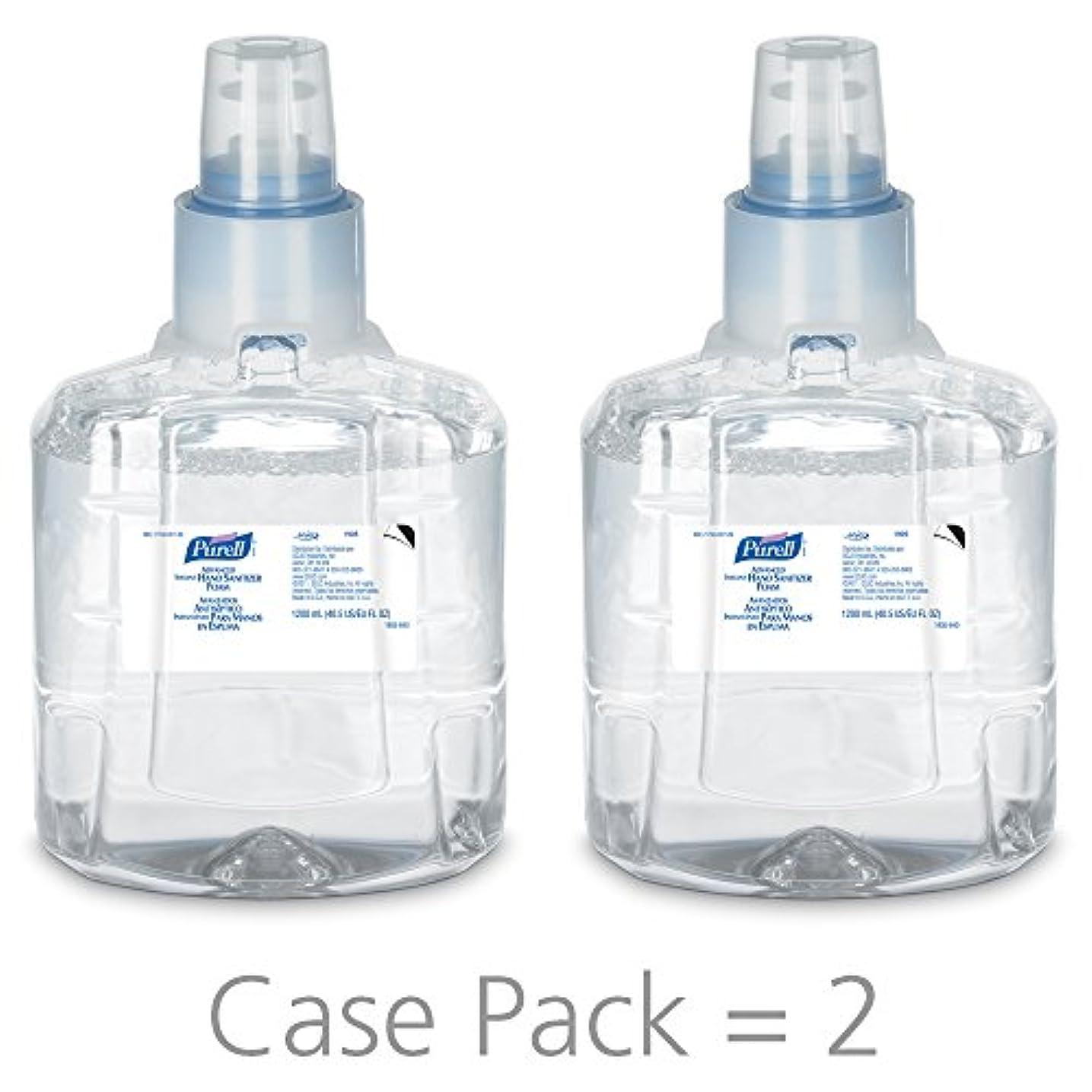 合体代表レジPURELL 1905-02 1200 mL Advanced Hand Sanitizer Foam, LTX-12 Refill (Pack of 2) by Purell