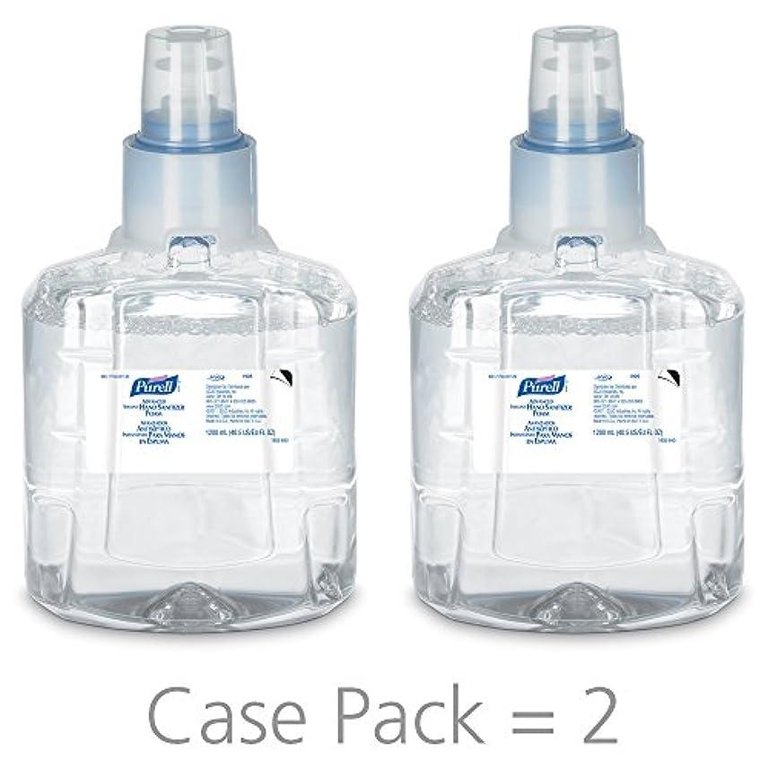 妥協雇用者政治PURELL 1905-02 1200 mL Advanced Hand Sanitizer Foam, LTX-12 Refill (Pack of 2) by Purell