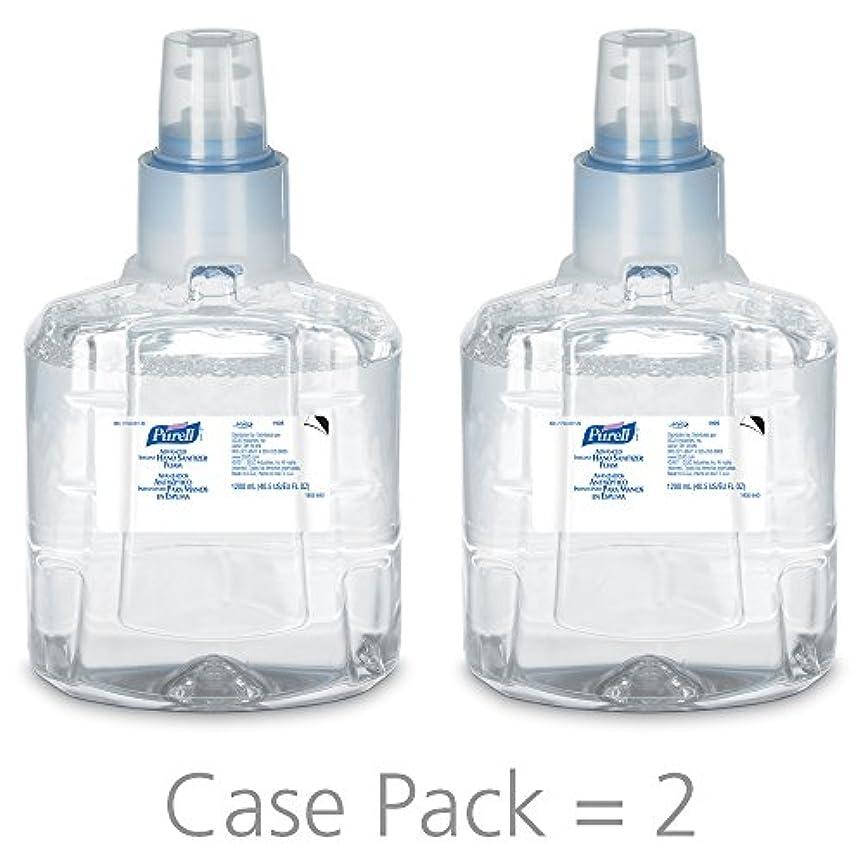 音楽ポジション小さなPURELL 1905-02 1200 mL Advanced Hand Sanitizer Foam, LTX-12 Refill (Pack of 2) by Purell
