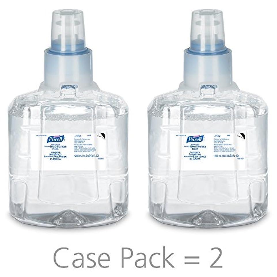 残酷な鋭く盲信PURELL 1905-02 1200 mL Advanced Hand Sanitizer Foam, LTX-12 Refill (Pack of 2) by Purell