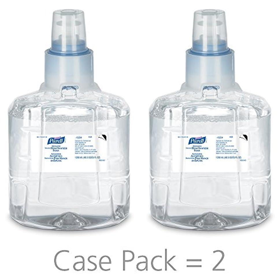 確立しますラフトお母さんPURELL 1905-02 1200 mL Advanced Hand Sanitizer Foam, LTX-12 Refill (Pack of 2) by Purell