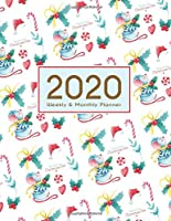 2020 Planner Weekly & Monthly 8.5x11 Inch: Pretty Mouse One Year Weekly and Monthly Planner + Calendar Views, journal, for Men, Women, Boys, Girls, Kids Daily Pretty Simple Essentials Organizer, appointment book, notebook, agenda, New Year