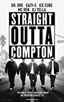 "Straight Outta Compton – 映画ポスター12 x 18 ""インチ、光沢仕上げ( Thick ) : Dr。Dre eazy-e、アイスキューブ"