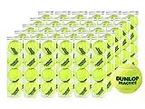 DUNLOP(ダンロップ) プレッシャーライズド テニスボール PRACTICE(プラクティス)4球入 1箱(30缶/120球)