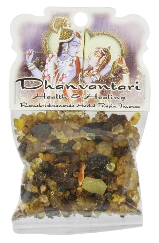道徳胴体バンジージャンプ樹脂Incense Dhanvantari – Health and Healing – 1.2ozバッグ