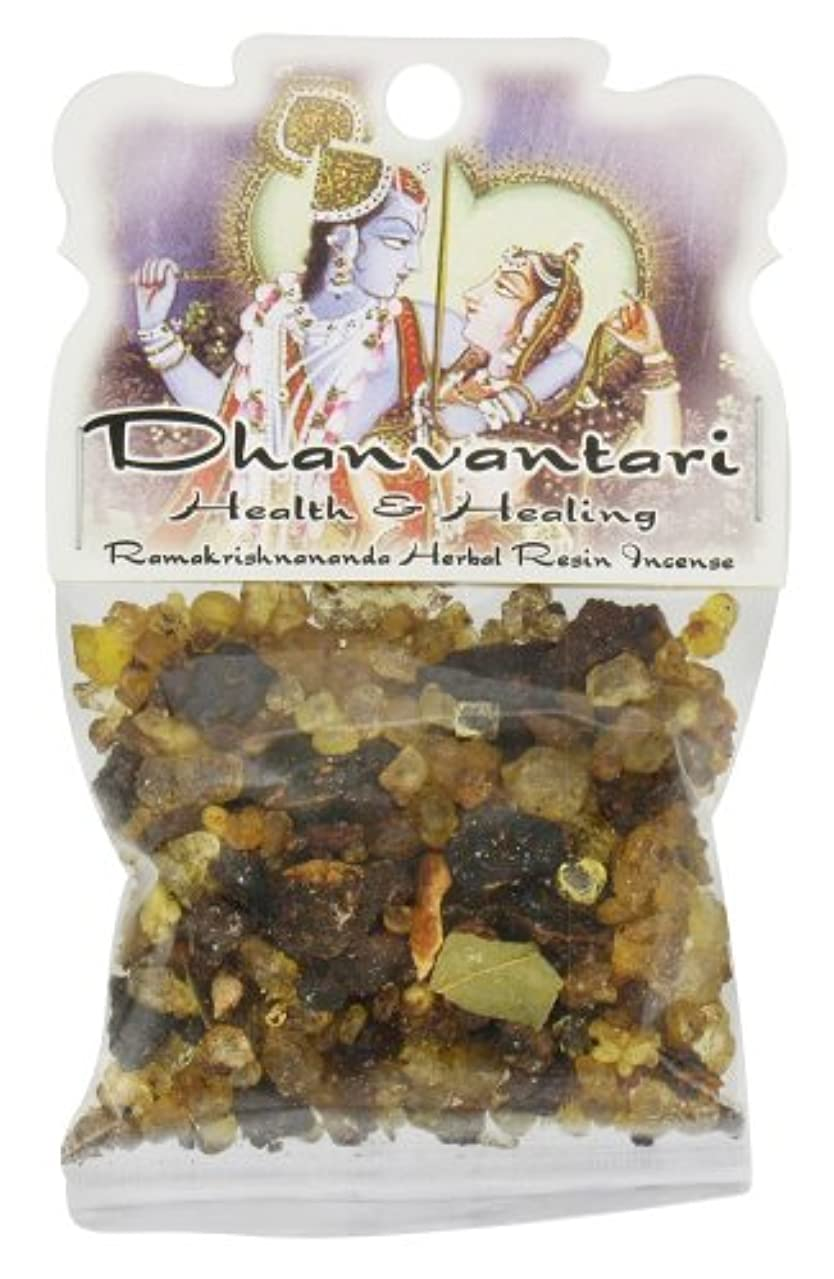 に債権者発音樹脂Incense Dhanvantari – Health and Healing – 1.2ozバッグ