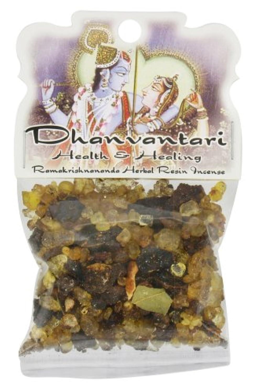 あたり洗剤褒賞樹脂Incense Dhanvantari – Health and Healing – 1.2ozバッグ