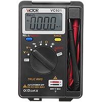 VICTOR VC921 Miniデジタルマルチメーター 周波数 ダイオード測定 /オートレンジ/データホールド機能【並行輸入品】