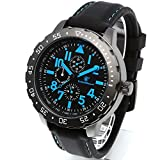 [Smith & Wesson]スミス&ウェッソン スイス トリチウム ミリタリー腕時計 CALIBRATOR WATCH BLUE/BLACK SWW-877-BL [正規品]