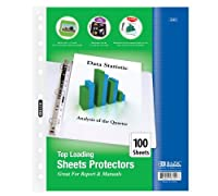 BAZIC Top Loading Sheet Protectors (100/Pack) (Case of 12) (3101-12) [並行輸入品]