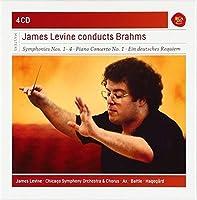 Brahms: Symphonies Nos. 1 - 4 / Piano Concerto No. 1 / A German Requiem / (8) Lieder (2014-08-26)