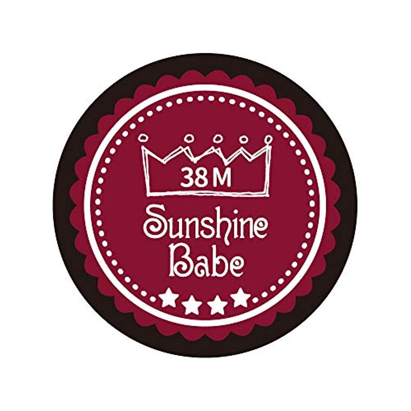 会社練習した管理しますSunshine Babe カラージェル 38M レッドペア 2.7g UV/LED対応