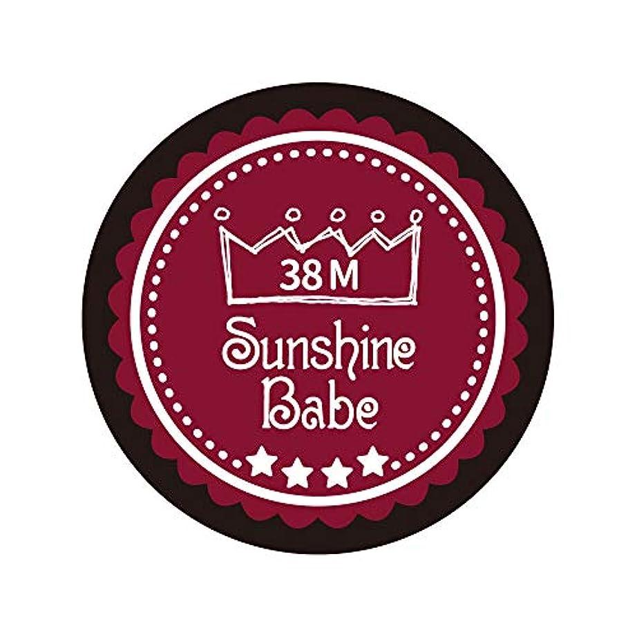 スロットトライアスロン宝Sunshine Babe カラージェル 38M レッドペア 2.7g UV/LED対応