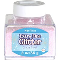 Sulyn 2oz. Glitter Stacker Jar- Cameo Pink by Sulyn