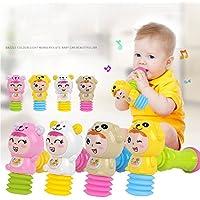 elegantstunning 軽い音響効果と快適なグリップを備えたおもちゃハンマー 幼児のため