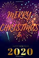 Merry Christmas & Happy New Year Notebook: Merry Christmas & Happy New Year Notebook: 6x9 inch Daily Planner Journal, To Do List Notebook, Daily Organizer, 120 pages