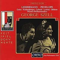 ロルフ・リーバーマン:歌劇「ペネローペ」(世界初演ライヴ)  (Liebermann, Rolf: Penelope)