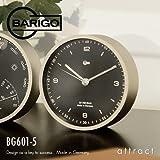 BARIGO バリゴ Clock BG601-5 時計 マットシルバー (壁掛け 卓上)