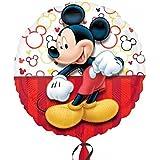 (アナグラム) Anagram Disney 子供用 ミッキーマウス キャラクター アルミ風船 パーティー バルーン 誕生日 (18in) (マルチカラー)