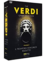 The Verdi Opera Selection: Il Trovatore / Don Carlos / Rigoletto [DVD] [Import]