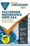 Cover of Cambridge Checkpoints VCE Further Mathematics 2017 and Quiz Me More