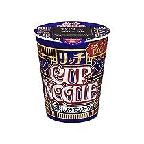 日清食品 カップヌードルリッチ 贅沢だしスッポンスープ味 67g×12個