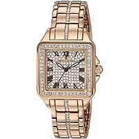 Christian Van Sant Women's 'Splendeur' Quartz Brass and Stainless Steel Casual Watch, Color:Rose Gold-Toned (Model: CV4622)