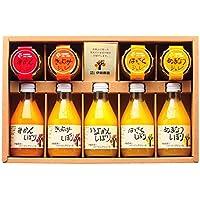 伊藤農園 100%ピュアジュース&ジュレギフトセット V-113 オレンジジュース