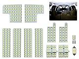 トヨタ 50系 エスティマ / エスティマ ハイブリッド 純白 ホワイト LED ルームランプ 12点セット ACR50/55 GSR50/55 AHR20