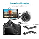 Neewer FW568 5.5インチカメラフィールドモニター、フルHD 1920 x 1080 IPS、4K HDMI DC入出力 ビデオピーキングフォーカスアシスト、回転アーム付き Sony Nikon Canon DSLRおよびジンバル用(バッテリーなし) 画像