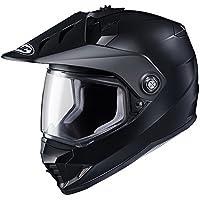 HJC(エイチジェイシー) バイクヘルメット フルフェイス セミフラットブラック (サイズ:L) DS-X1 SOLID(ソリッド) HJH133 HJH133
