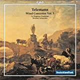 テレマン:管楽器のための協奏曲集 第5集