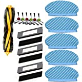 Monland Filter Brush Mop Cloth Set for Deebot Ozmo 920 950 Vacuum Cleaner Parts Replacement Home Accessories