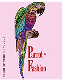 Parrot-Fashion(オウム返し)Tシャツ メンズ メヘンディ mehndi ヘナタトゥ-