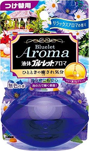 液体ブルーレットおくだけアロマ トイレタンク芳香洗浄剤 詰め替え用 リラックスアロマの香り 70ml