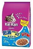 カルカン ドライ 成猫用 肥満が気になる猫用 毛玉ケア まぐろと野菜味 1.6kg [キャットフード]