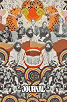 Journal: The Grateful Dead American Rock Band Deadheads 57th The Greatest Artists of All Time Truckin Greatest Hit, Soft Cover Paper 6 x 9 Inches 110 Pages, Supplies Student Teacher Daily Creative Writing, Paper Workbook for Teens & Children.