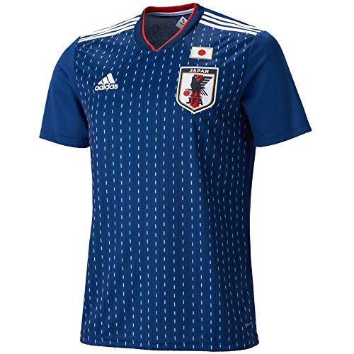 (アディダス)adidas サッカー 日本代表 ホームレプリカユニフォーム半袖 DRN93 [メンズ] CV5638 ナイトブルー F13/ホワイト J/S
