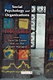 Social Psychology And Organizations (Organization and Management Series)