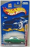 Mattel Hot Wheels 2003 1:64 Scale Green Ford Thunderbolt Die Cast Car #060