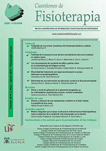 CUESTIONES DE FISIOTERAPIA: VOLUMEN 45 -3