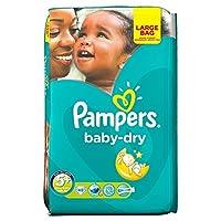 Pampers Baby Dry Size 5+ Junior Plus 13-27kg (48 per pack) パンパース赤ちゃんドライサイズ5+ジュニアプラス13~27キロ(パックあたり48 )