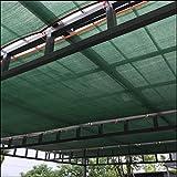 CJC シェルター テント・タープ 90%日焼け止め シェードクロスカバー シェードメッシュ タープ ネット セイルサンシェード オーニング そして フェンススクリーン パティオ そして キャノピーカバー スポーツ アウトドア (Color : Green, Size : 4x5m)