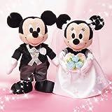 Amazon.co.jpブライダル ぬいぐるみS ミッキーマウス&ミニーマウス 洋装