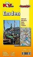 Emden: Cityplan 1 : 7.500 - Ortsplaene 1 : 15 000 - Freizeitkarte 1 : 25 000. Fahrrad. Wandern. Auto. Sport. Freizeit
