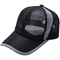 LOOKATOOL Summer Breathable Mesh Baseball Cap Men Women Sport Hats